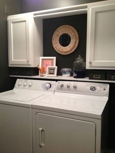 Love this paint color for a laundry room.  Besalt by Ace Paints