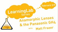 """Today's a good day to stay in and watch Wednesday's Learning Lab, """"The Benefits of Anamorphic with the GH4"""" with Panasonic's Matt Frazer (and featuring the new Anamorphot lenses from SLRMagic).  #anamorphic #Panasonic #GH4 #anamorphotlenses#rbcgear #production"""