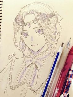 Drawing Pencil Animals Inspiration Ideas For 2019 - pencil-drawings Anime Drawings Sketches, Anime Sketch, Manga Drawing, Manga Art, Cool Drawings, Pencil Drawings, Arte Sketchbook, Beautiful Drawings, Anime Art Girl