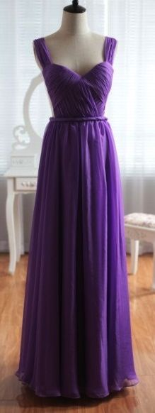 Pretty Purple Elegant Sweetheart Open Back Prom Dress