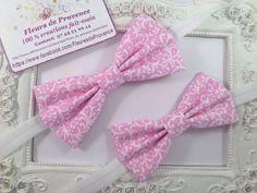 SET 2 Noeud papillon élégant rose pastel, père et fils : Cravates par fleurs-de-provence