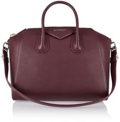 Givenchy Medium Antigona bag in burgundy textured-leather - ShopStyle  Duffels   Totes 508d581bd500b