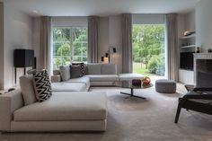Inrichting villa Schilde - Hoog ■ Exclusieve woon- en tuin inspiratie.
