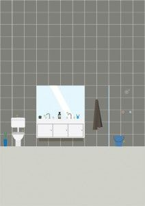 The Real Estate Crier : Tips for the Bathroom---Notes for Renters