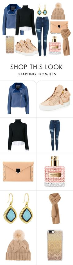 """стильный образ"" by landysh-1425 ❤ liked on Polyvore featuring McQ by Alexander McQueen, Giuseppe Zanotti, Michael Kors, Topshop, Jimmy Choo, Valentino, Armenta, Loro Piana and Casetify"