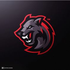 Wolf sport logos vol 1 on behance - american logo sport theme Logo Esport, Dog Logo, Logo Inspiration, Lobo Tribal, American Logo, Sport Logos, Game Logo Design, Wolf, Illustration