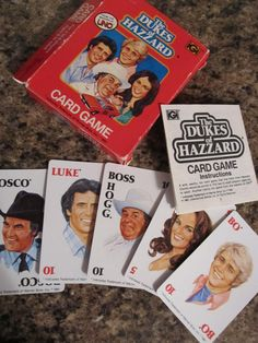Dukes of Hazzard card game