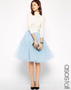 Buy ASOS TALL Mesh TuTu Skirt at ASOS. With free delivery and return options (Ts&Cs apply), online shopping has never been so easy. Get the latest trends with ASOS now. Asos, Nylons, Winter Rock, Winter Wear, Jeans Rock, Winter Skirt, Models, Trendy Wedding, Wedding Ideas