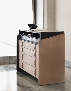 Secretary desk / chest of drawers GENTLEMAN   Secretary desk - Flou