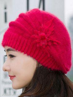 2ab67ad75ef92 Lady Elegance Fashion Faux Fur Plain Tassel Decoration Polyamide Hats  Crochet Beanie Hat
