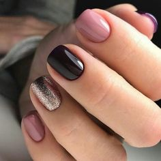 Beautiful Nail Art Style & Trends To Try In 2018 Everyday we sharing the different ideas of Gorgeous Nails. Today also we came with Fresh & Stunning Look of Nails Trends for this Modern year of If you want to increase the beauty of your… Stylish Nails, Trendy Nails, Shellac Nails, Manicures, Cute Acrylic Nails, Cute Nails, Hair And Nails, My Nails, Nails Today