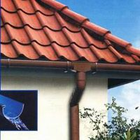 Gutter Pvc Half Round Beauty Brown 200x Pergola Decorations Gutters Pergola Patio