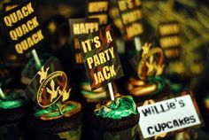 Duck Dynasty Party | CatchMyParty.com