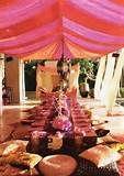Moroccan al fresco Moroccan Party, Moroccan Theme, Moroccan Wedding, Moroccan Design, Moroccan Style, Indian Theme, Moroccan Lounge, Moroccan Room, Ethnic Wedding