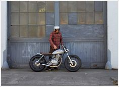 Moto-Mucci: DAILY INSPIRATION: Holiday Customs 1980 Suzuki GN400