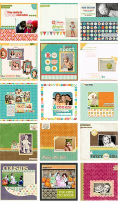 some favorite layouts from crystal wilkerson