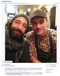 Great Facebook post from Big Fernand Montorgueil in Paris,France/ Sympathique post Facebook de Big Fernand Montorgueil à Paris, France https://www.facebook.com/bigfernand/photos/a.298620486856890.85925.243819455670327/821645804554353/?type=1