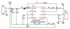 5V to 12V Voltage Circuit Diagram