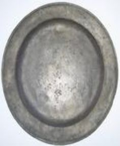 """Early 19th century pewter Plate 7-3/4"""" ..."""