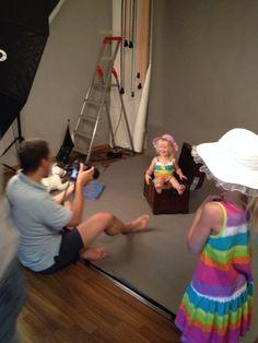 fotosession for mine piger #diapercake #blekager #prinsesser
