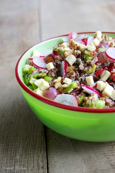 Protein packed quinoa salad [Yum! Fresh and perfect for summer! Try with #FairTrade quinoa of course!]