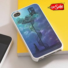 Tardis Victorian Sky  iPhone 4S case iPhone 5S case by RogohSukmo, $5.00