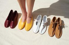 beautiful hand crafted shoes