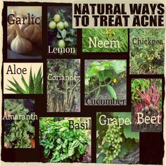 11 NATURAL WAYS TO TREAT ACNE ❥➥❥ Acne involves the over-production of sebum from the sebaceous... pinned with Pinvolve - pinvolve.co