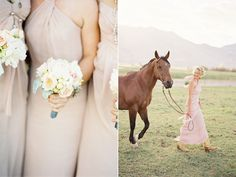 I wish I had thought about incorporating horses and dogs in our wedding photos!