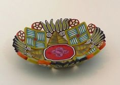 3-182 - Saucer/soap dish, 1 inch tall x 4 inches diameter by Emily Squires Levine