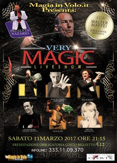 Very Magic Live show