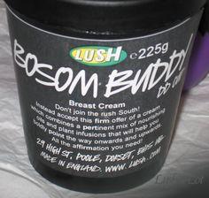 Bosom Buddy DD Breast Cream | Lush