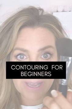 Makeup Tips For Women Over 40. The easiest way to contour as a beginner in under 10 seconds. Makeup Tips, Eye Makeup, Contouring For Beginners, Best Foundation, Natural Makeup, Makeup Looks, Eyeshadow, Women, Makeup Eyes