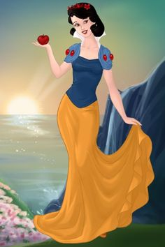 Snow White ~ by Ellishul ~ created using the Azaleas Dolls doll maker   DollDivine.com