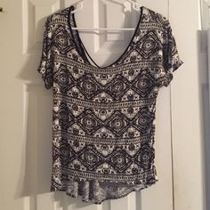 Cute Scoop Neck Blouse! Worn a handful amount of times. Super cute shirt with an even super cuter back! Feel free to ask questions :) sorry, I don't trade ! Full Tilt Tops Blouses