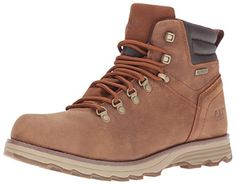 720692 Caterpillar Mens Sire Waterproof Work Boots  Brown Sugar  120  M *** Click image to review more details.(This is an Amazon affiliate link and I receive a commission for the sales)