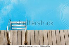 relax concept with swimming pool relax concept - stock photo