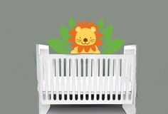 childrens removable vinyl wall decal Lion in by wallinspired, $40.00