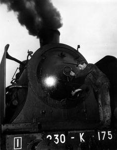 Robert Doisneau ( Chemin de Fer) - Cheminot 1945