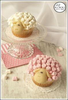 ildi KOKKI : Húsvéti megacukiság: bárány muffin
