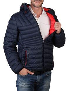 Chaqueta de la marca sparco para hombre acolchada