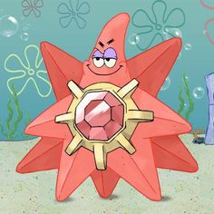 Starmie. Upvote this post so thats what people will see when theyll Google search Starmie.