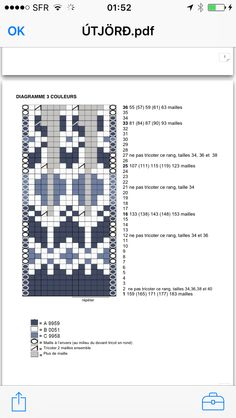 Knitting Charts, Knitting Socks, Knitting Patterns Free, Knit Patterns, Sewing Patterns, Filet Crochet, Crochet Motif, Knit Crochet, Fair Isle Chart