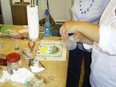 Kreativabend der Perlendreher- mit tollen Ergebnissen!