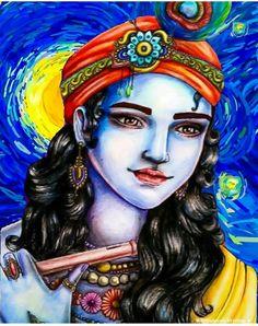 Jai Shree Krishna, Radha Krishna Photo, Krishna Photos, Krishna Painting, Wonder Woman, Princess Zelda, Superhero, Life, Fictional Characters