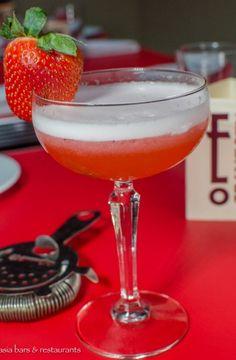 Fraise Sauvage - Tanqueray Gin, wild strawberries & Tahitian vanilla ...