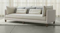 Sofas, Couches and Loveseats | Crate and Barrel - Asana Sofa - $3,300 Crate and Barrel
