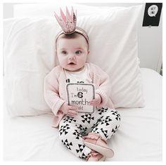 2016 Otoño niñas Recién Nacidas Del Bebé juegos de ropa infantil de manga larga carta Camiseta de algodón y pantalones Aquí Viene el Problema bebé de la muchacha