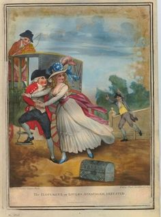 Satire: FOR DESCRIPTION SEE GEORGE (BMSat).  1785  Hand-coloured mezzotint