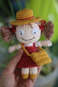 PATTERN: Mei Crochet Amigurumi Doll